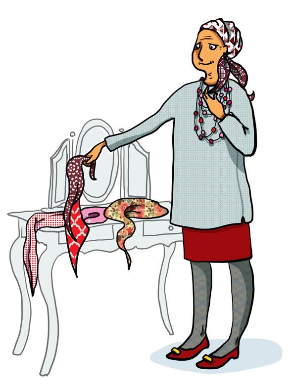 foulard gucci femme
